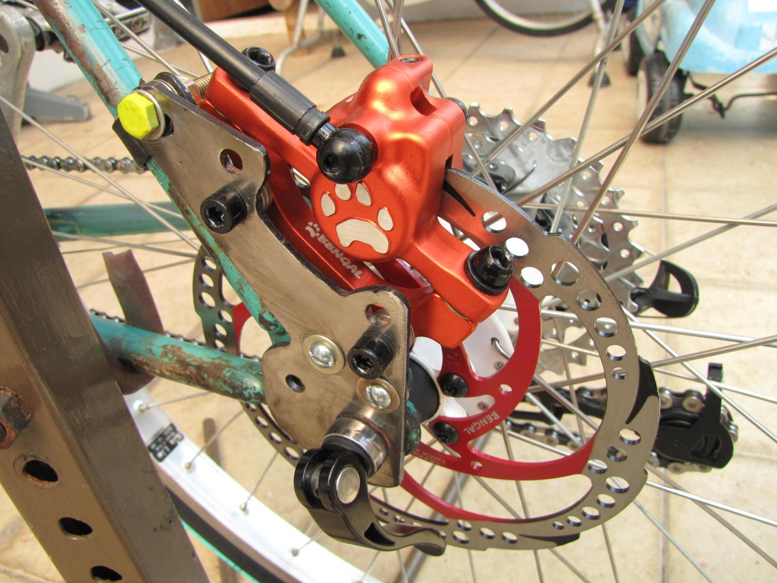 Modifikasi Disc Brake Pada Sepeda V Brake – portalsepeda