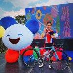 Ayustina Delia Priatna, Sumbang Medali Perunggu Pada Kategori Women Individual Road Race