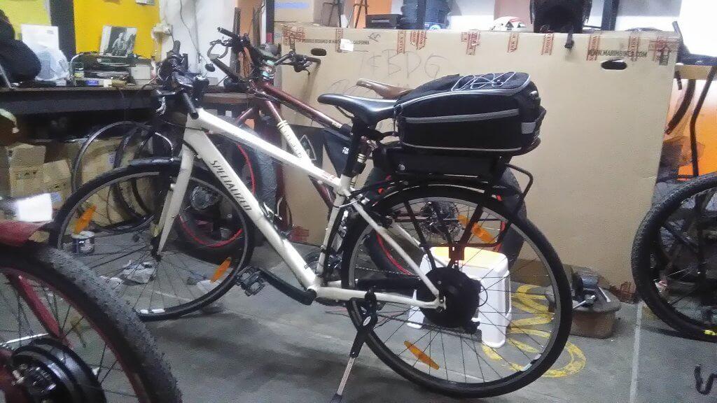Modifikasi Sepeda Konvensional Menjadi Sepeda Listrik Portalsepeda