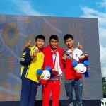 Aiman Cahyadi, Medali Emas Pertama Untuk Indonesia Dari Cabor Balap Sepeda