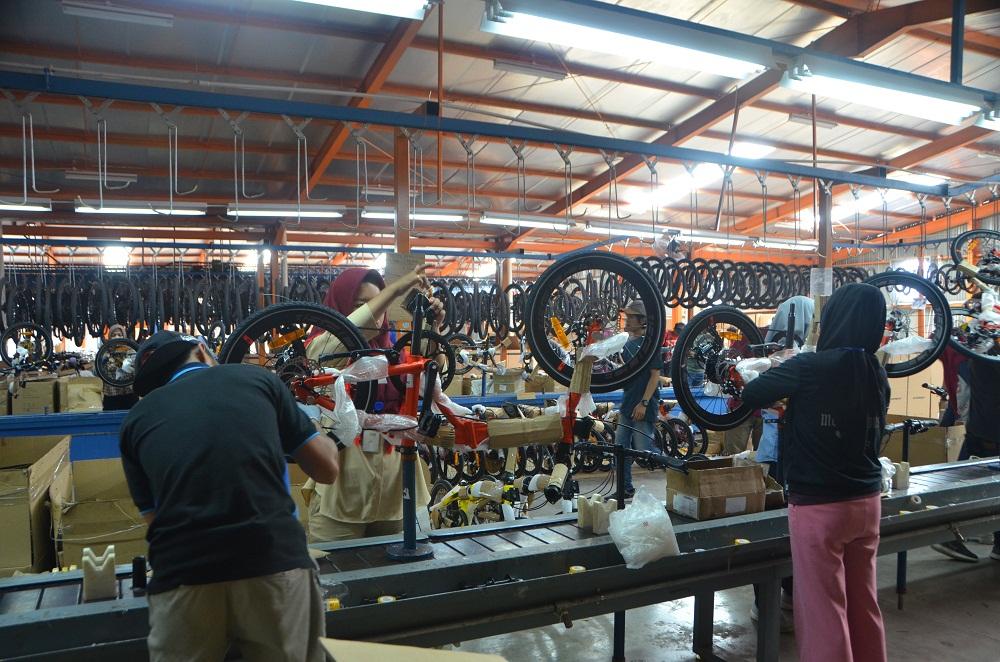 Kunjungan Industri : Pabrik Sepeda Element (PT. Roda Maju
