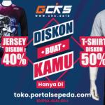 Promo Diskon T-shirt dan Jersey CKS !