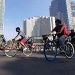 Jakarta Kembali PSBB, 10 Kawasan Khusus Pesepeda (KKP) Ditiadakan