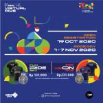 Segera Daftar! Rebut Medali Finisher Keren dari MNC Virtual Ride