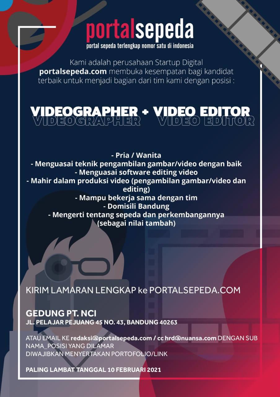 Info Loker Videographer