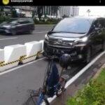 Pemprov DKI Beri Tanggapan Terkait Mobil Yang Viral Karena Masuk Jalur Sepeda