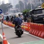 Wagub DKI Beri Tanggapan Terkait Banyaknya Pemotor Yang Masuk Lajur Sepeda Permanen